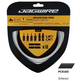 Jagwire Mountain Pro Brake Cable Kit, black